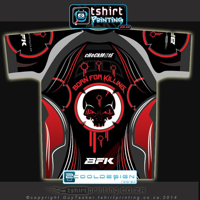 Awesome new gamer shirt design completed in October 2014 tshirtprinting.co.za