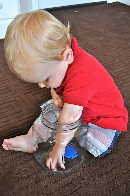 Leaning with your 1 y/o. This blog has some neat things to do with infant to toddler aged kids.