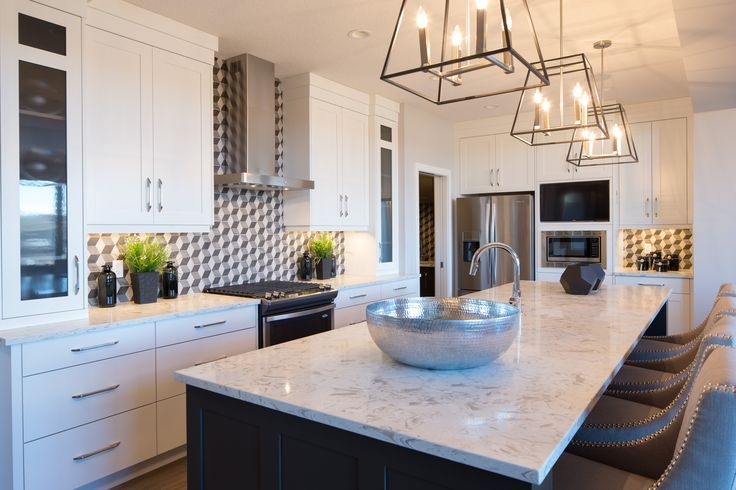 Projects | Rochelle Cote. The kitchen. From the Belvedere Show Home - 65 Legacy.