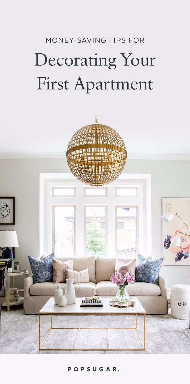 Money Saving Tips For Decorating Your First Apartment Gold