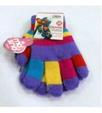 Multicolored Winter Gloves for Women
