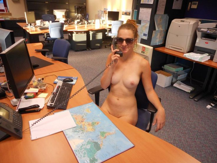 Nudes at the office your