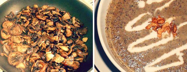 Gust Verde: Delicioasa mea supa crema de ciuperci (Reteta Biancai)