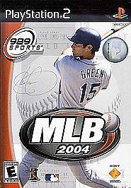 MLB 2004 PlayStation 2 Game with Manual Baseball Video Game 711719725626 | eBay