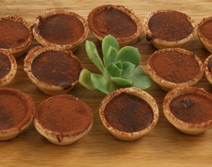 chocolate fudge tarts