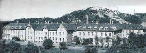 Rønvik asyl.  Foto: Nordlandssykehusets bildearkiv.