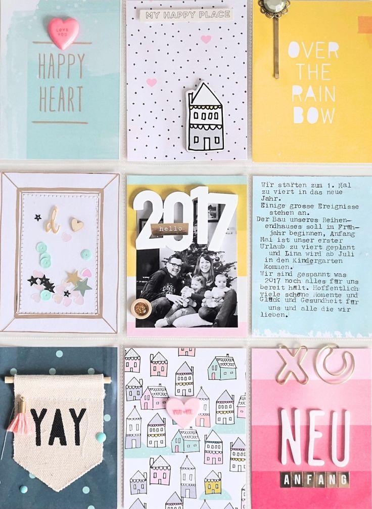 Project Life Titelseite 2017 - Crate Paper & Elle´s Studio - von Ulrike Dold