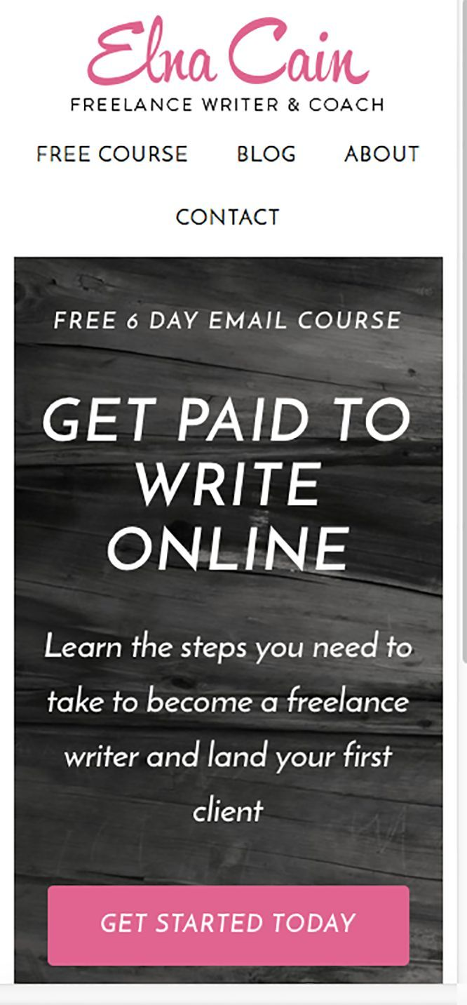 Are you a blogger, WAHM, SAHM or just sick of your 9-5 job? Check out my Get Paid to Write Online FREE email course and start working from home and making money!