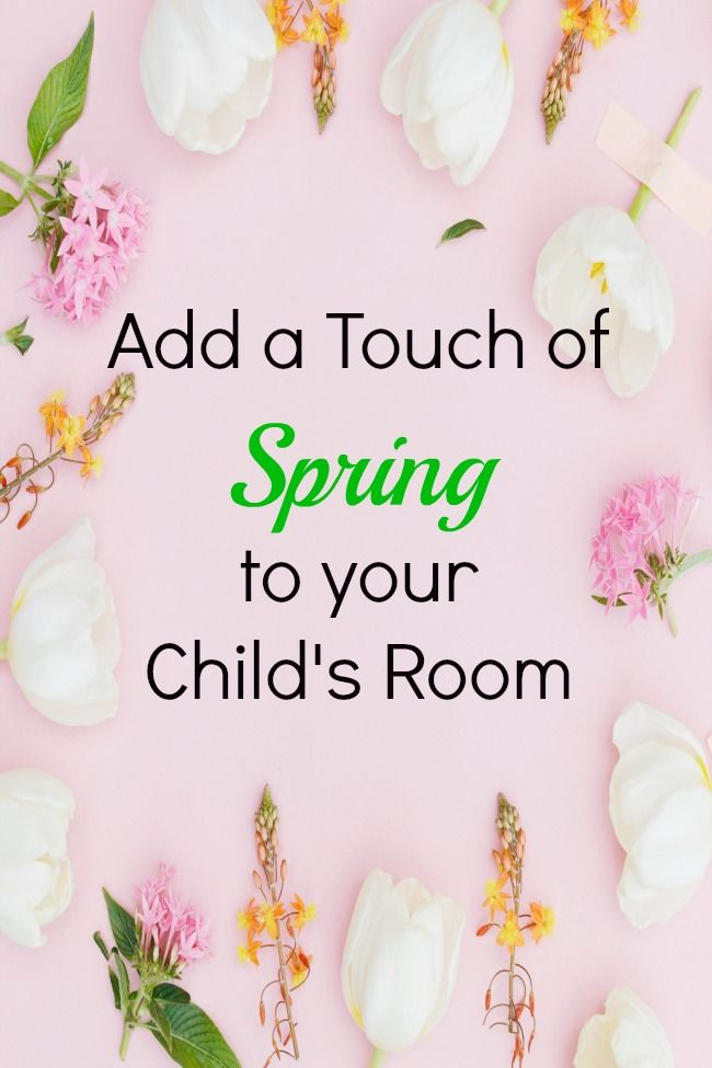 Add a fresh and airy feel to your child's room this Spring with these great tips.