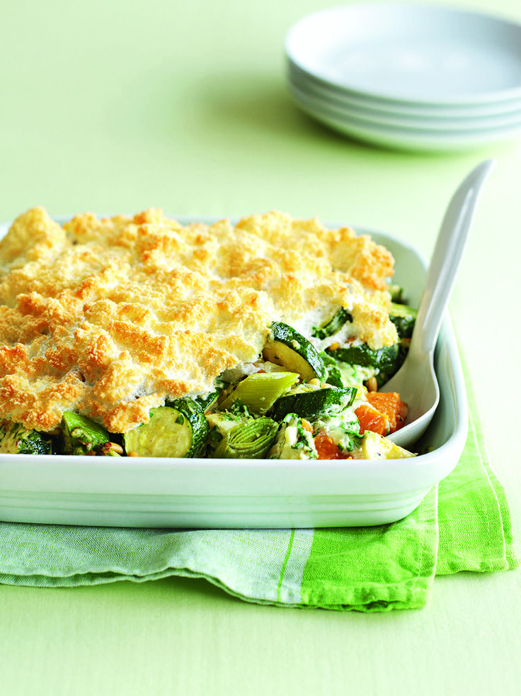 A cheesy, veggie family meal even carnivores will adore.