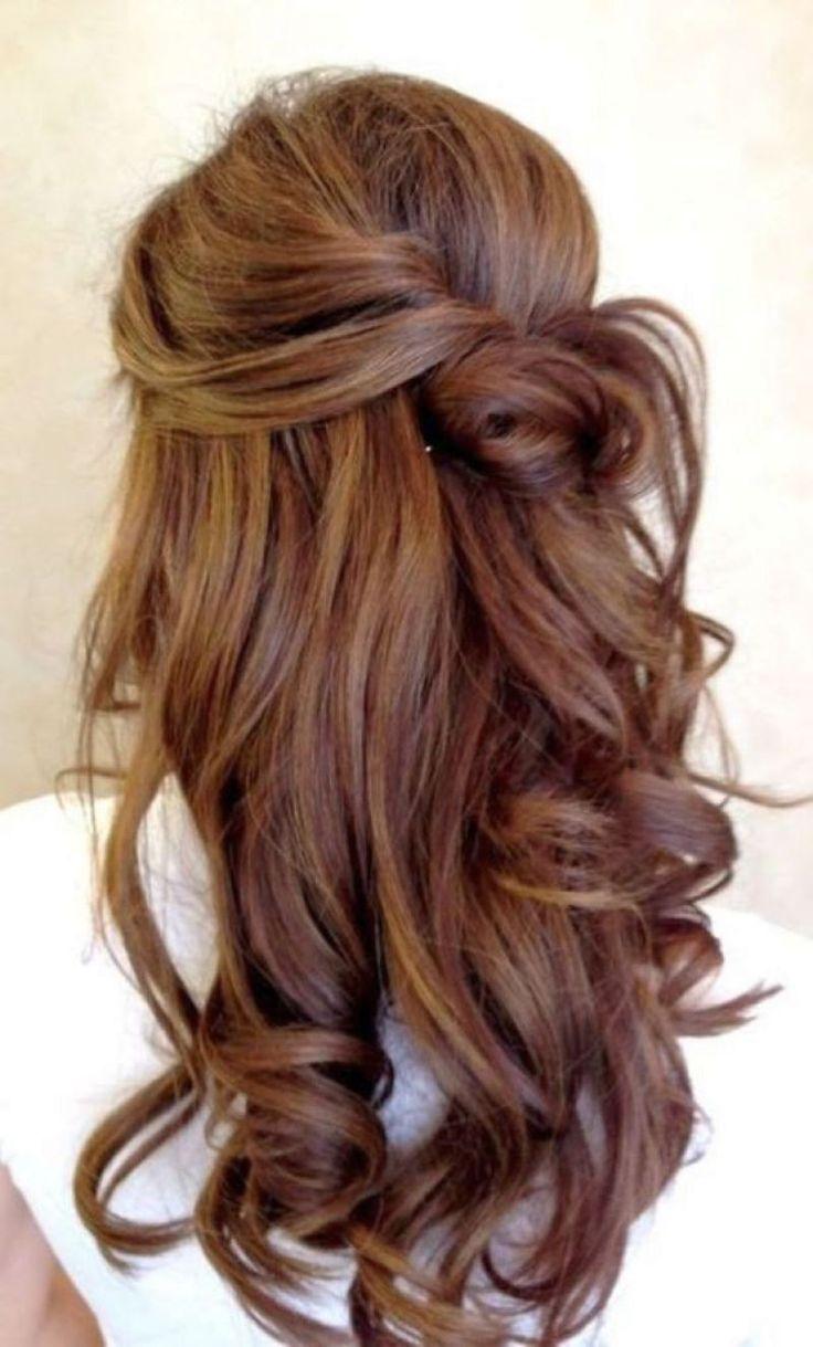 awesome Каштановый цвет волос (50 фото): все оттенки для шатенки Читай больше http://avrorra.com/kashtanovyj-cvet-volos-foto/