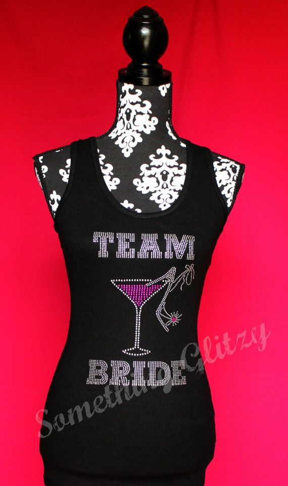 Hey, I found this really awesome Etsy listing at https://www.etsy.com/listing/158726023/team-bride-martini-glass-and-heel