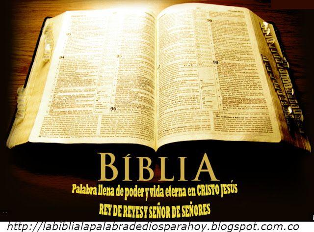 La Biblia La Palabra De Dios Para Hoy: Liturgia diaria de la palabra de Dios-Ayudame seño...