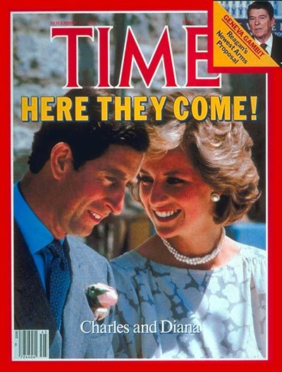 TIME Magazine Cover: Prince Charles and Princess Diana -- Nov. 11, 1985