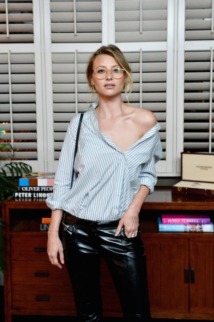 GUEST / Aly Michalka in Bungalow 1 #oliverpeoples