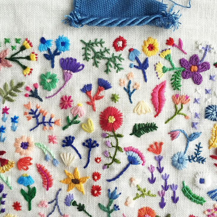"""Working with my mom to have this piece of #happycactusembroidery made into a small pillow. Probably going with this blue cording and a linen or velvet fabric for the back. The embroidery is 7.5"""" x 5.5"""". Are tiny pillows your thing?"""
