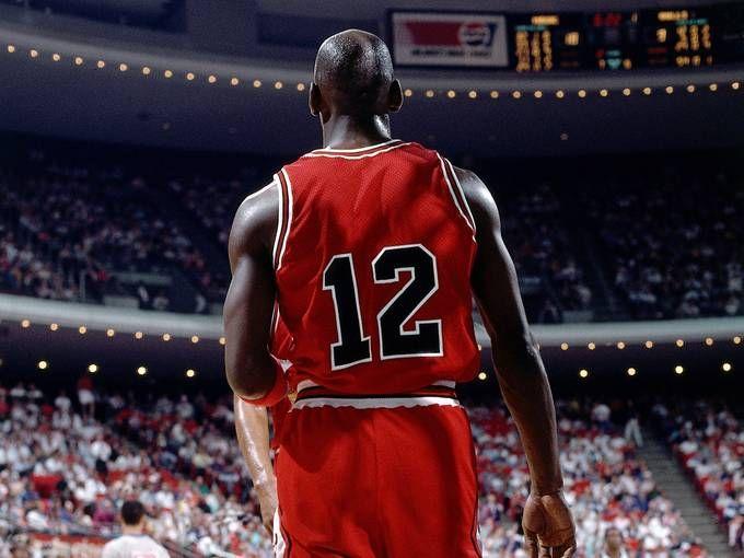 Michael Jordan wearing 12? Interesting story ... http://www.usatoday.com/story/gameon/2012/12/12/nba-jordan-bulls-12/1763265/