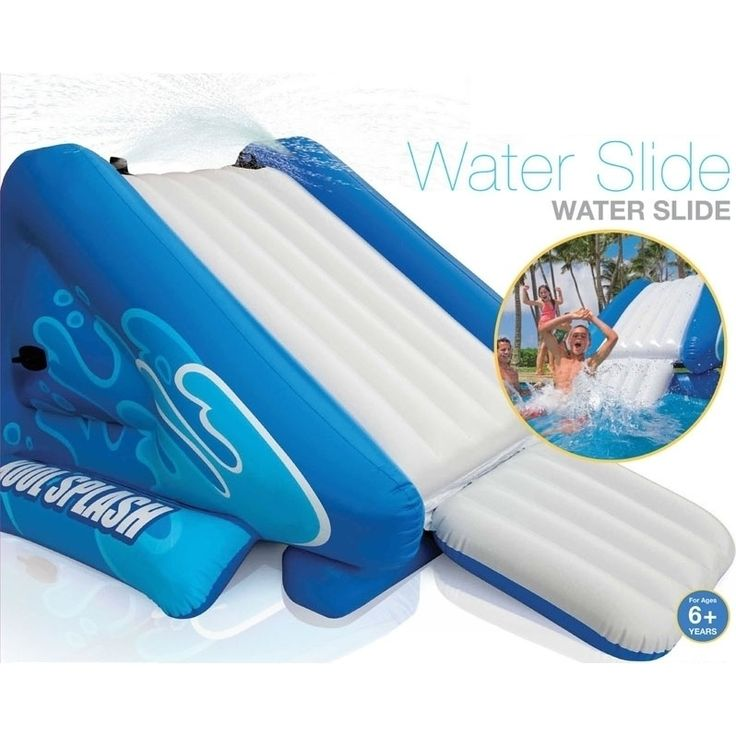 intex giant inflatable pool water slide w pump shopping buy sale online at mydeal