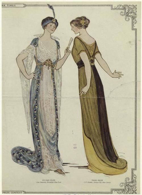 2nd and 3rd place designs (from a contest?), 1913, The New York Times