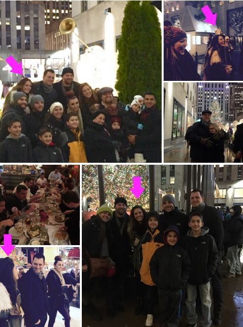 Caroline fondly posted the following photos of the happy family outing which includes Dina's daughter, Lexi in many of the pics... Please read more and join in at at: http://allaboutthetea.com/2014/12/11/dina-manzo-makes-peace-with-caroline-manzo-jacqueline-laurita-for-the-holidays/