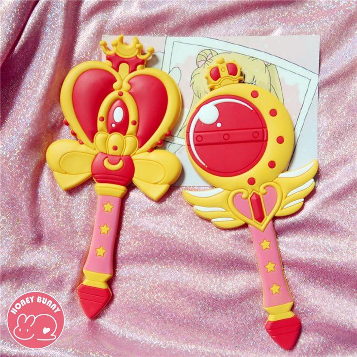 Sailor Moon Pocket Makeup Mirror from Honey Bunny