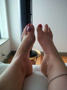 Lesson of the Broken Toe - Lynda Lippin - Pilates Fitness Reiki NYC