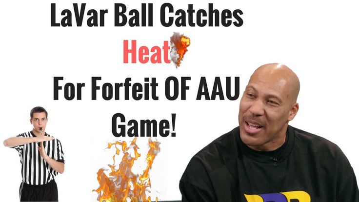 """LaVar Ball Forfeit Big Ballers AAU Playoff Game After Technical Foul: """"E... #levarball #aau #basketball #nba #media #love #sports"""