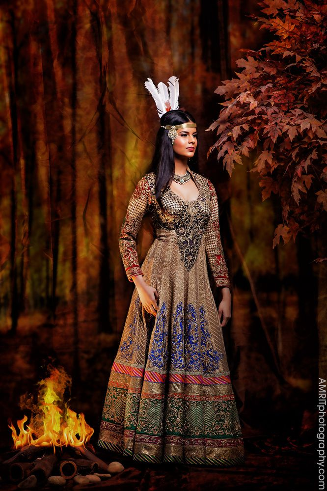 PHOTOS. Les princesses Disney posent en version Bollywood
