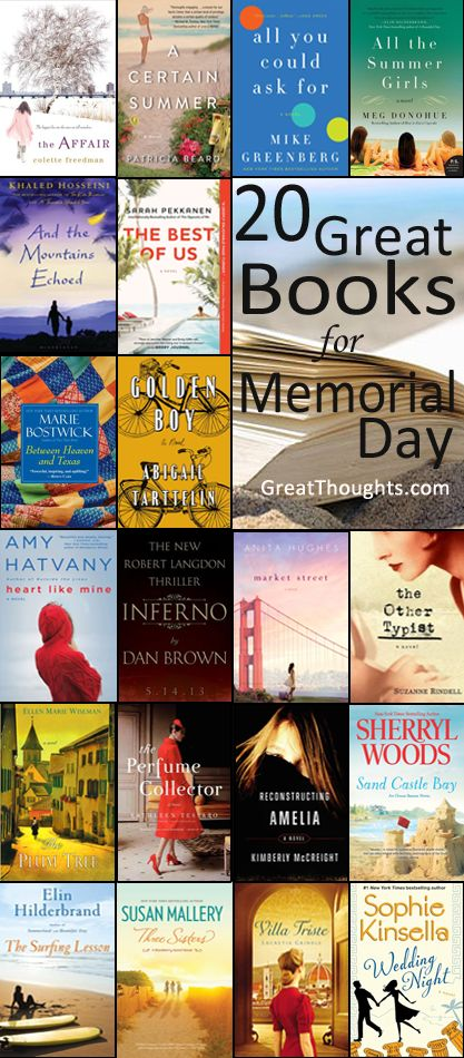The Best New Books to Read on Memorial Day Weekend
