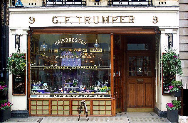 Trumper shop front