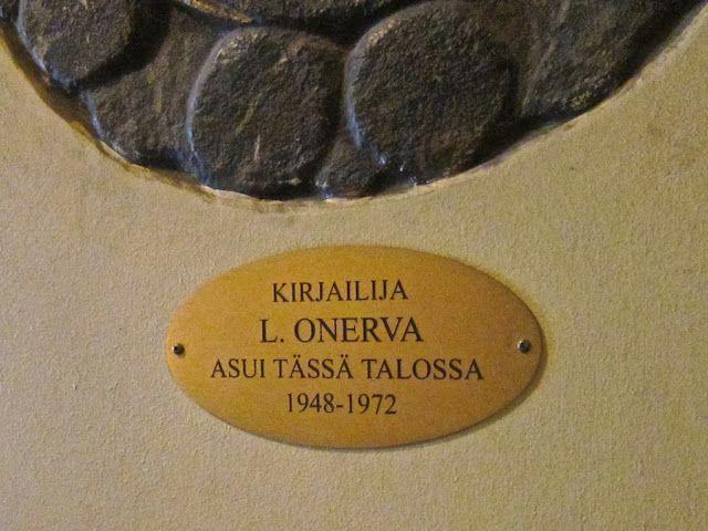 Hän asui täällä: L. Onerva