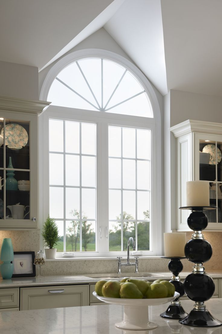 Add Arch And Grids To Your Home Windows For A Beautiful