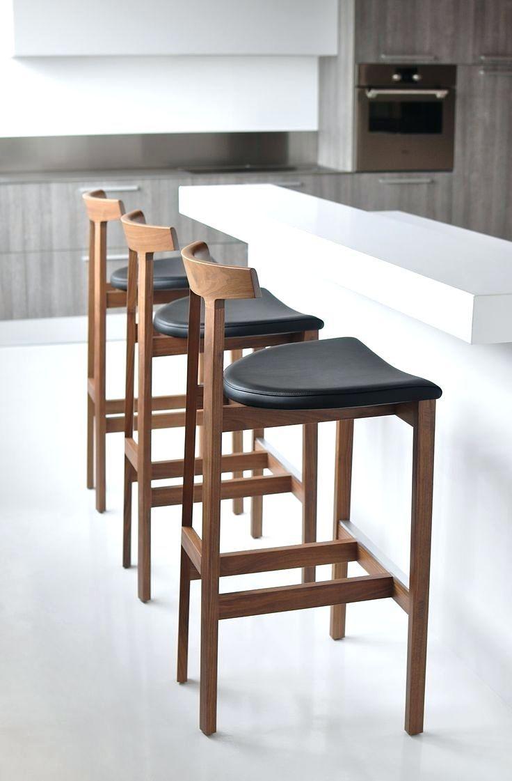 Licht Blaue Küche Bar Hocker Möbel Zähler Höhe Mit Auf Und Weißen Keramik  Boden Leder Frühstück