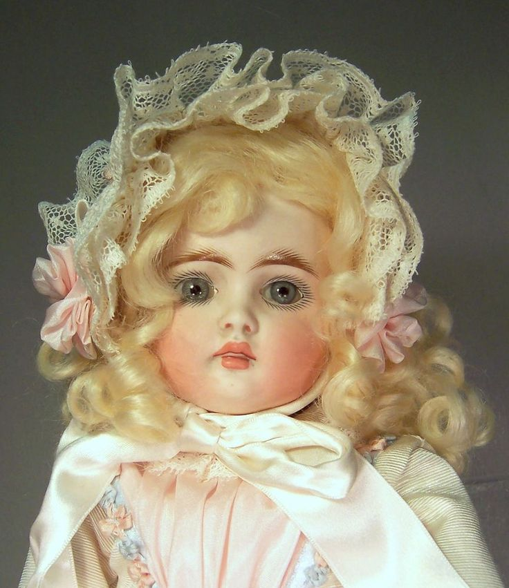 Beautiful Antique Belton Mold 197 Bisque Head Doll