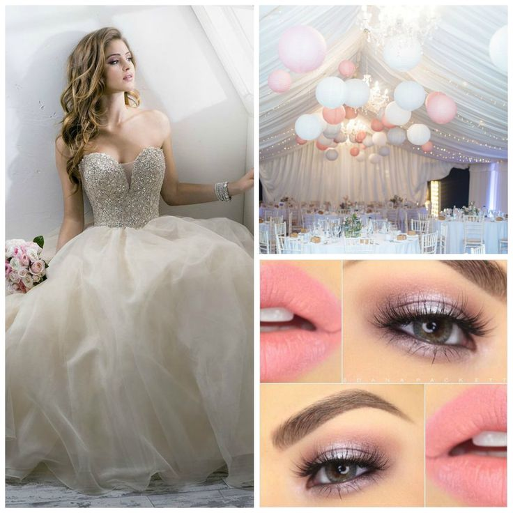 White and Pink Quinceanera | Quinceanera Theme | Quinceanera Ideas |