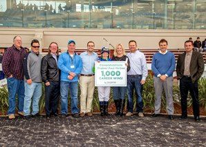 Trainer McGee Secures Milestone Win at Fair Grounds  https://www.racingvalue.com/trainer-mcgee-secures-milestone-win-at-fair-grounds/