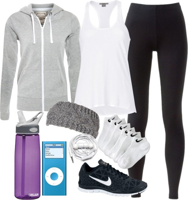 work out outfit.