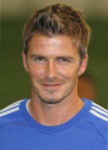 David Beckham Short Fohawk....maybe i can talk my hubby into trying a new do!