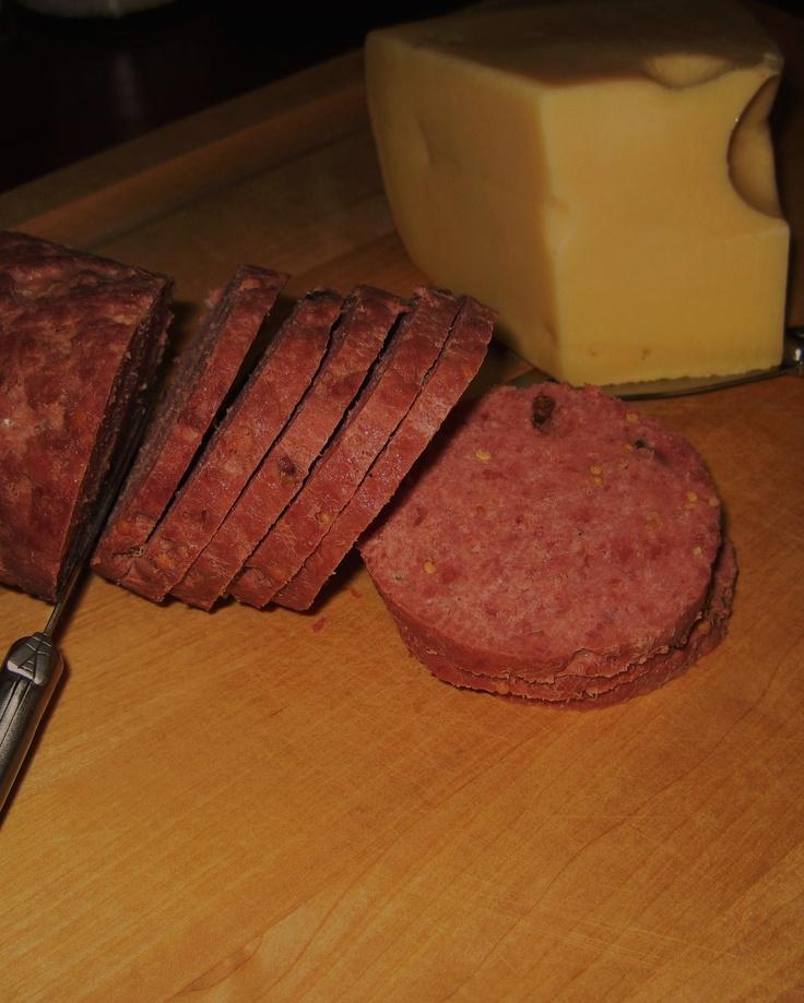 Summer Sausage (Mom's Recipe)