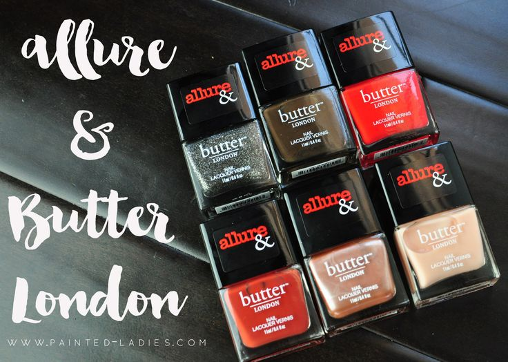 Allure & Butter London Arm Candy Review & Swatches