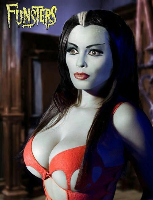 lily munster tits