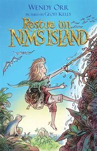 Rescue on Nim's Island, illustrated by Geoff Kelly