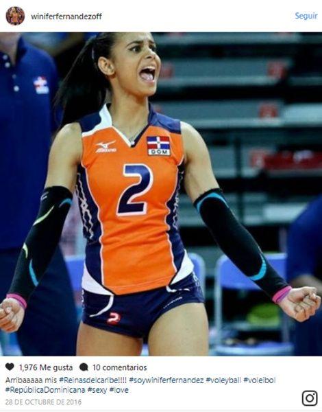 Ella es la voleibolista que desata furor en Instagram