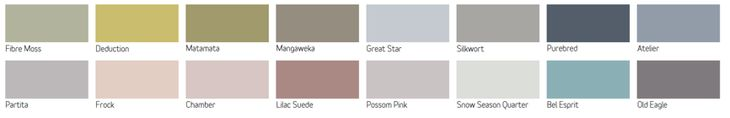 Friday's Favourites: Gallerie B Dulux 2016 Colour Forecast, Biofragility