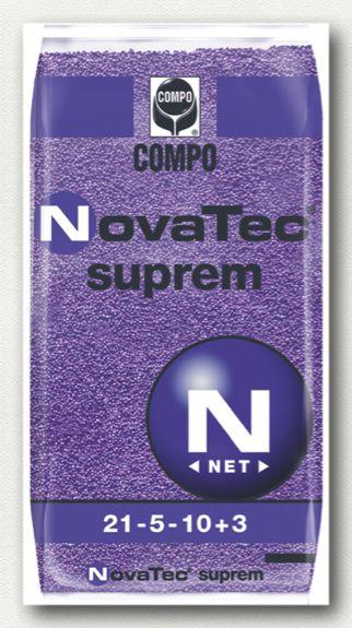 ΚΟΚΚΩΔΗ ΛΙΠΑΣΜΑΤΑ_NovaTec_NovaTec Suprem Σύνθεση: 21-5-10 +3MgO+B+Fe+Zn  Ιδανικό για καλλιέργειες με αυξημένες απαιτήσεις κυρίως σε κάλιο, άζωτο, μαγνήσιο και ιχνοστοιχεία και λιγότερο σε φώσφορο.   Συσκευασία: σάκοι των 25 κιλών.