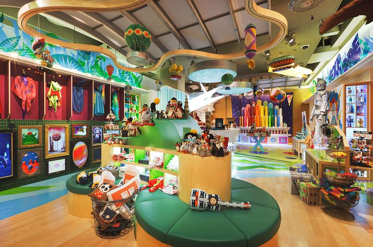 Visual Merchandising Sketch | JouJou Toy Store