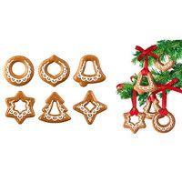 Foremki do wykrawania ozdoby bożonarodzeniowe Tescoma 6 szt