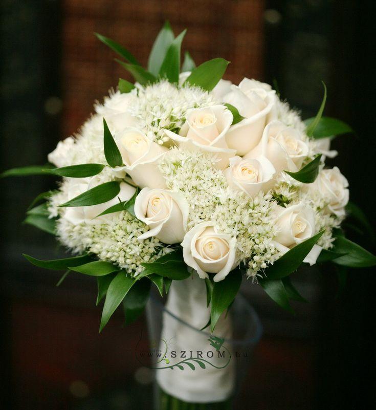 Esküvő menyasszonyi csokor - Szirom