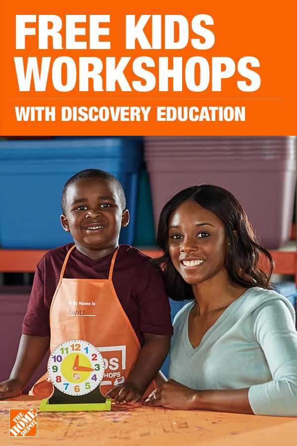 Built By The Home Depot And Discovery Education Science Fair