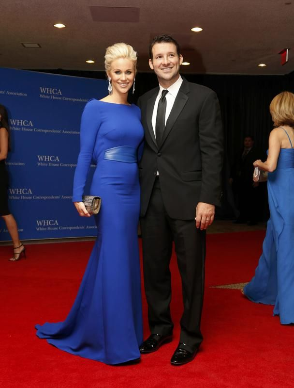Tony Romo and Candice Crawford at the 2014 White House Correspondent's Dinner
